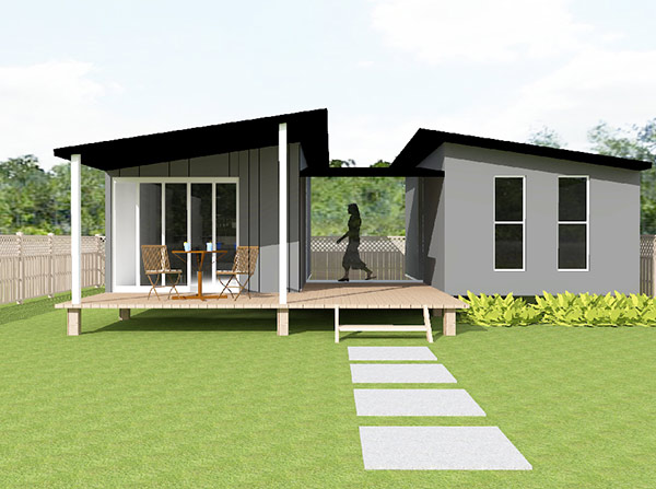 Granny flat and modular buildings for House plans granny flats attached